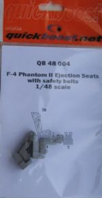 QB48004 1/48 McDonnell F-4 Phantom ejection seat with moulded in seat belts